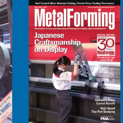 Celebrating 30 Years—MetalForming magazine