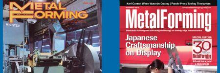 Celebrating 30 Years—MetalForming magazine