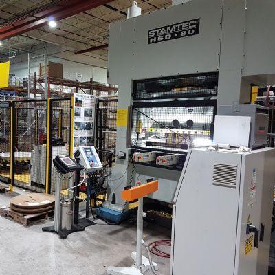Customized Mechanical Press Addresses Tiny-Part Ch...