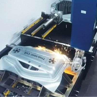 Fiber Laser Cutting Complements Stamping Operations