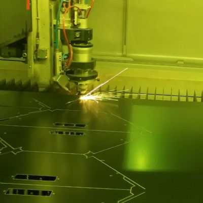 Laser-Cutting Addition Heats Up Productivity