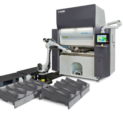 Robotic Bending Cell with Electric Press Brake