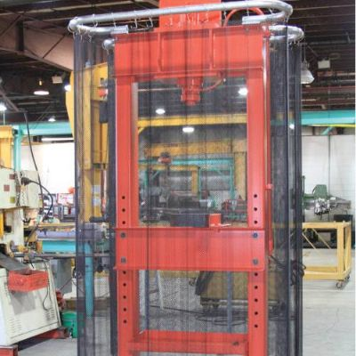 Curtain Guards for Hydraulic Presses