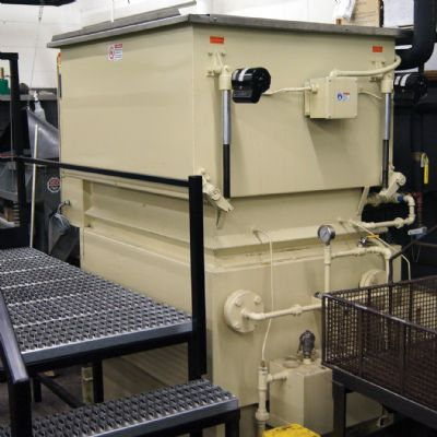 Safer Cleaning System and Fluid for Stamped Parts