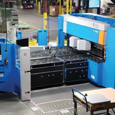 Sheetmetal Fabricator Marks 90th With Advanced Panel Bender