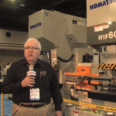 A Look at Komatsu America Industries at FABTECH 20...