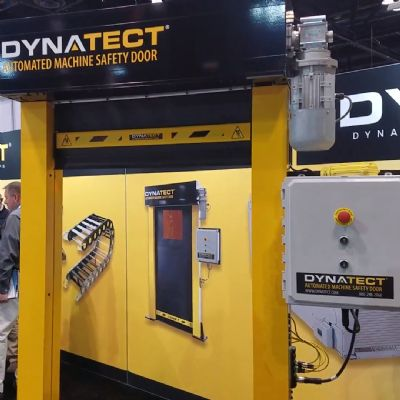 Automatic Door Offers Safe Isolation of Hazardous Ops