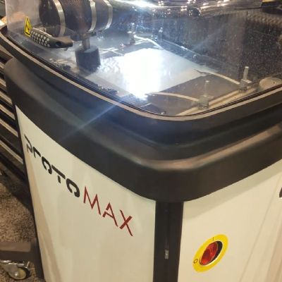 Economical Compact Waterjet Cutting from Omax for Prototypes...