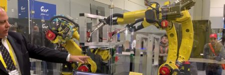 Fanuc Arc Mate 100id Arc Welding Robot as seen at FABTECH 2018