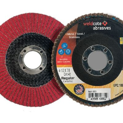 Flap Discs With Poly-Cotton Backing, Ceramic Grain...