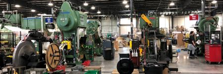 Metal Former Stays Strong With Aid From Government Program