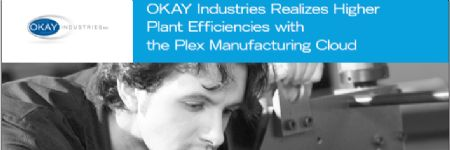 Higher Plant Efficiencies with the Plex Manufacturing Cloud