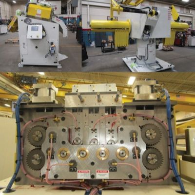 Coil Processing Line for Mexico Contract Stamper