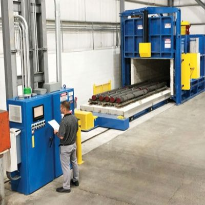 New Furnace Enables High-Temp. Treatment of Larger...