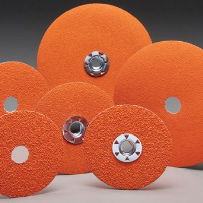 Fiber Discs Offer Faster Cut Rate in Carbon Steel and Soft-T...