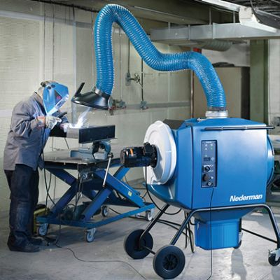 Industry 4.0-Ready Fume Extraction, Dust Collectio...