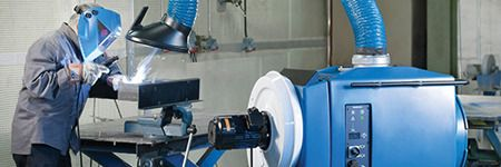 Industry 4.0-Ready Fume Extraction, Dust Collection