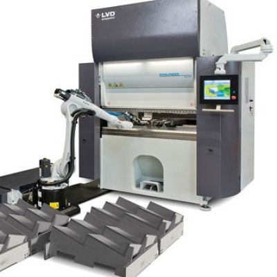 Robotic Bending Cell Features High-Speed Press Brake