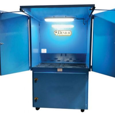 Weld Station Also Accommodates Grinding, Plasma Cutting