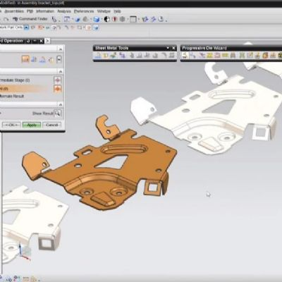 Automating Progressive Die Design with NX