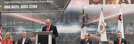 Amada America Celebrates Opening of NC Site