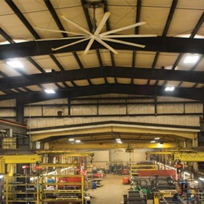 Large-Span Fan Makes Energy Saving a Breeze