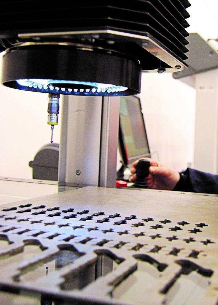 Hexagon camera LED inspection