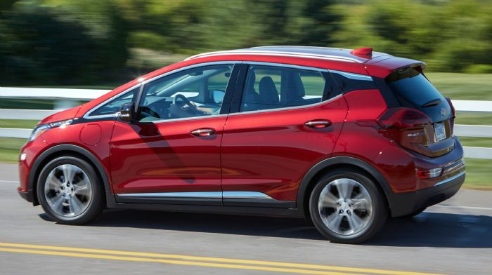 High strength steels 2020 Chevrolet BoltEV