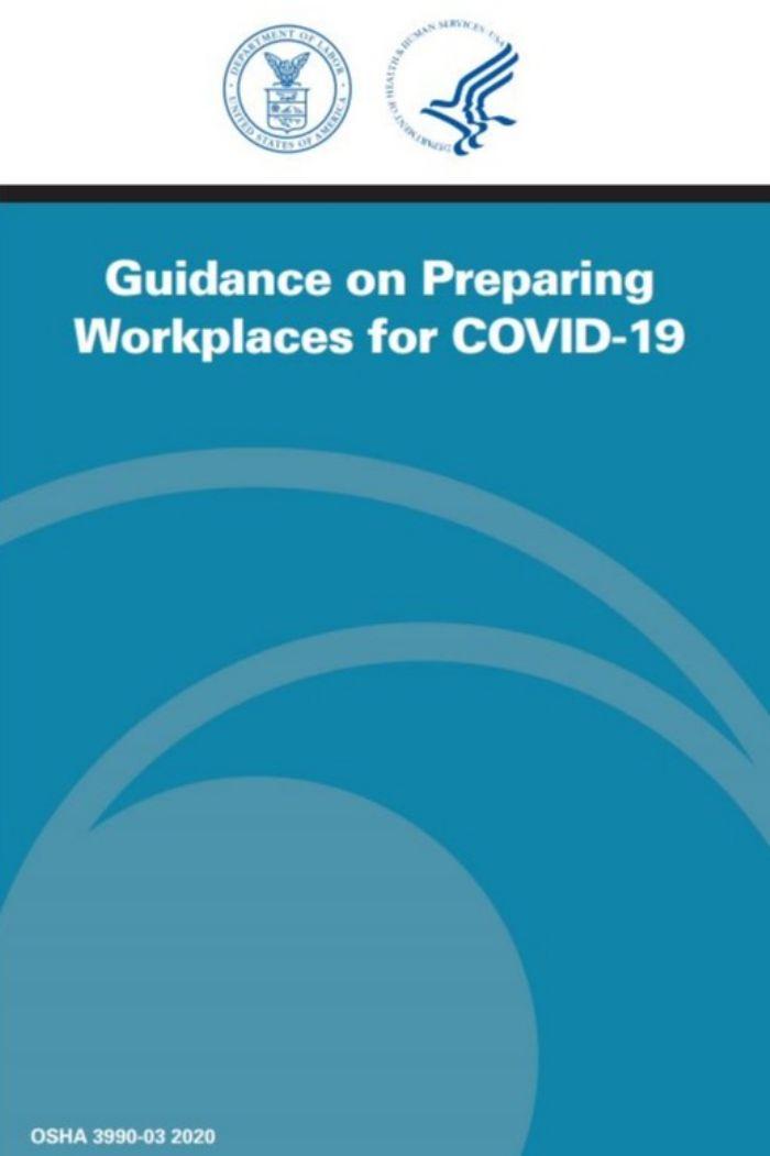 OSHA coronavirus guidance