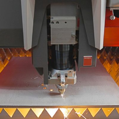 Fiber Laser Cuts Thin or Thick, and Automates Part Sorting