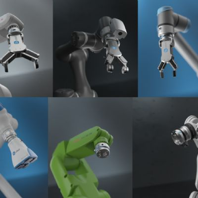 Mechanical and Electrical Interface for Cobot EoAT