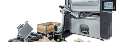 Robotic Bending Cell Features Adaptive Bending