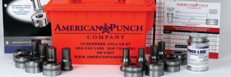 Round Punch and Die Kits for Ironworking Machines