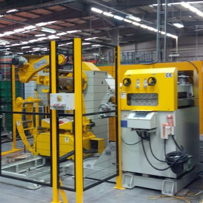 U.K. Heat-Shield Manufacturer Upgrades Coil Line