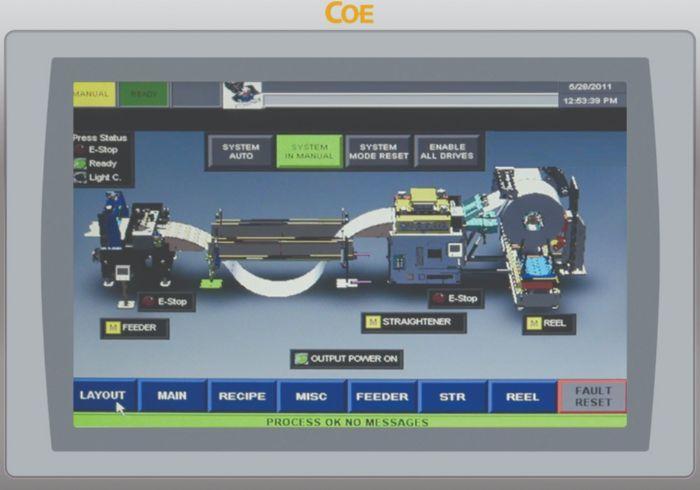 Coe-Feed-Line-Control