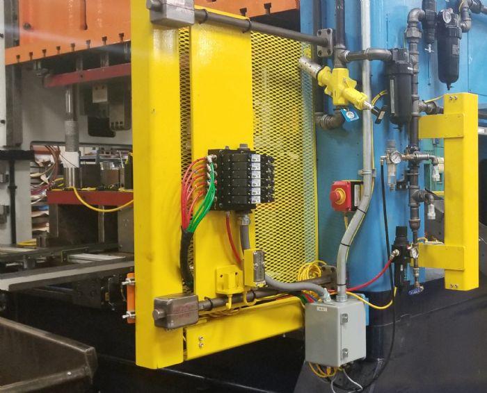 Sensors control junction box