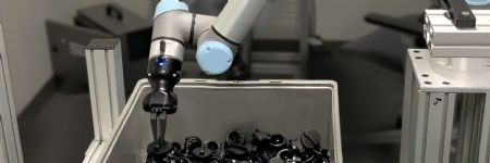 Autonomous Bin Picking Kit for Machine Tending
