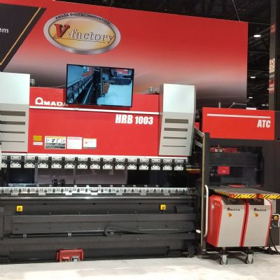 High-Productivity, Precision Press Brakes With Auto-Tool-Cha...
