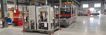 Bystronic Assembles its First BySmart Fiber-Laser Cutting Machine in the United States