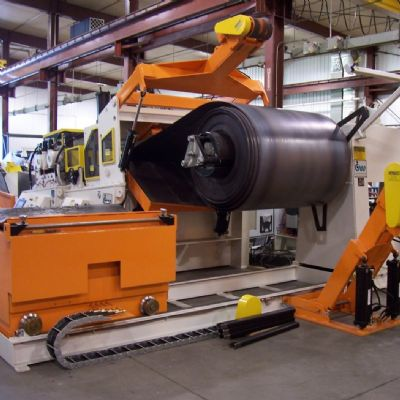 Coil Handling for Higher-Strength Steel