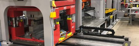 Coldwater Machine Designs and Ships Flexible HVAC-Fabrication Line