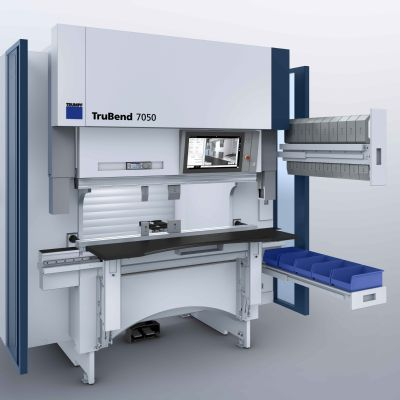 Rapid, Precise Press Brake Bending