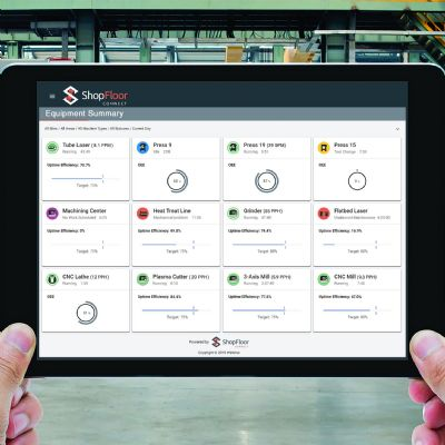 Software Eases Complex Tracking to Derive OEE