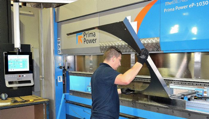A prima power servo electric press brake