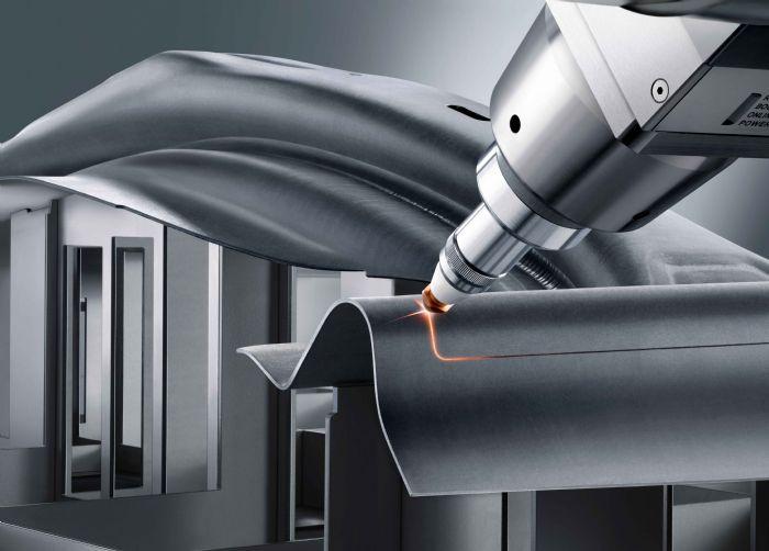 B Trumpf 3D laser cutting stamped parts
