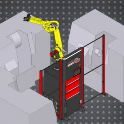 High-Speed Robotic Part-Loading Cell