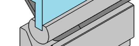 Large-Radius Bending on a Press Brake: Tackling Springback and Multi-Breakage
