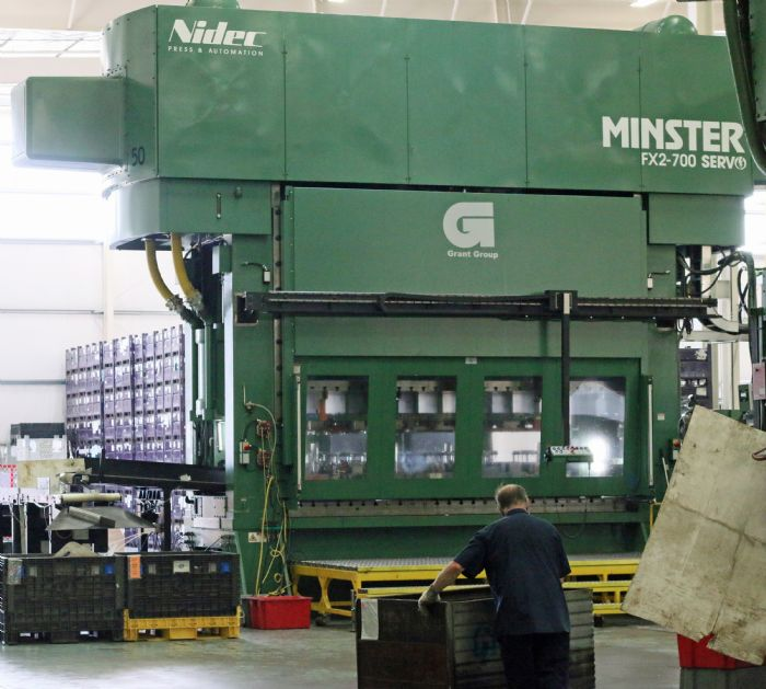 Minster Servo Press