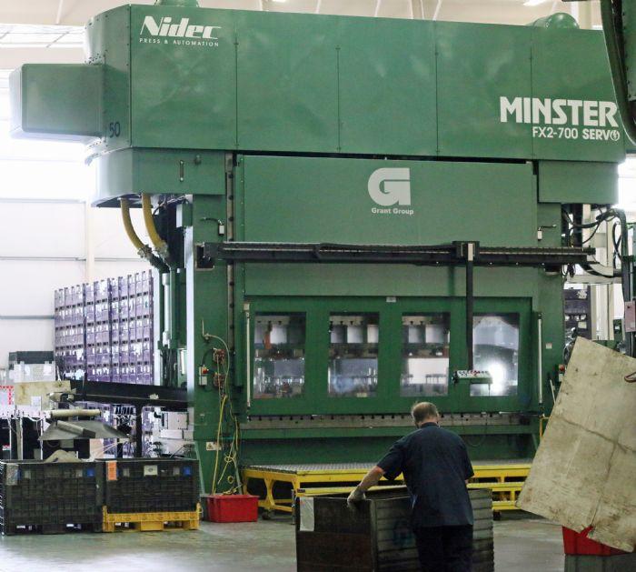 Minster Servo Press