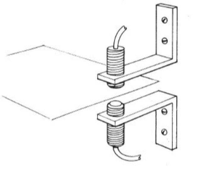 Press Feeds-dual-probe-noncontact sensing